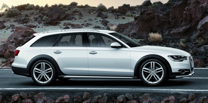 Audi A6 allroad quattro – the Avant that drives on all roads Image #92655
