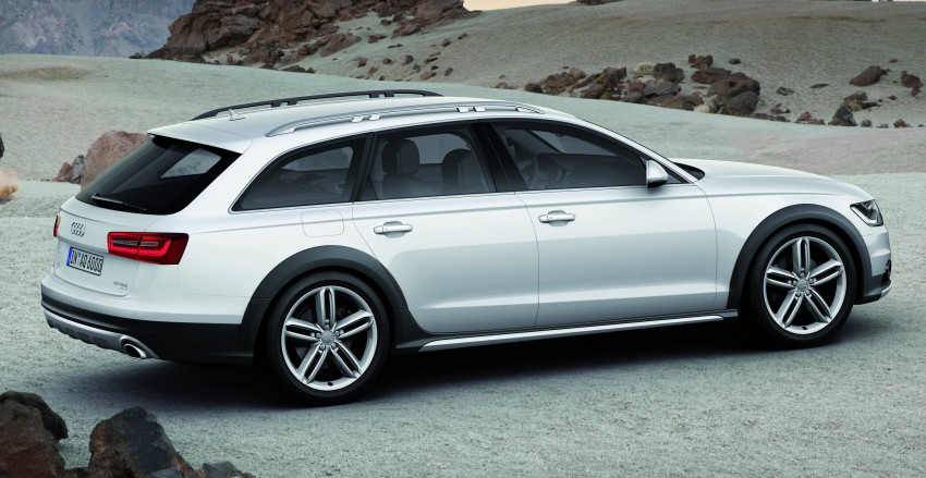Audi A6 allroad quattro – the Avant that drives on all roads Image #92654