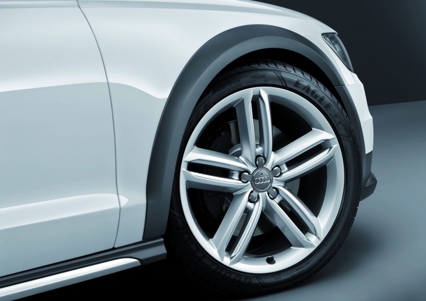 Audi A6 allroad quattro – the Avant that drives on all roads Image #92653