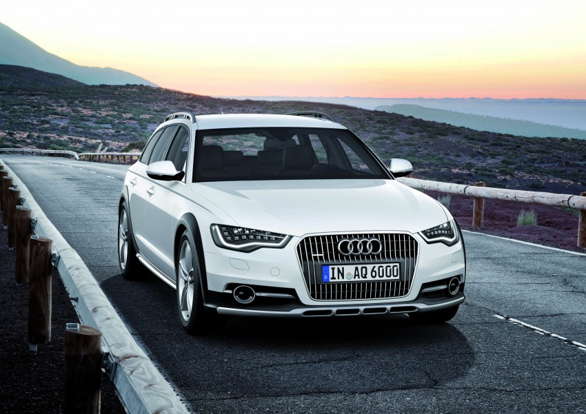 Audi A6 allroad quattro – the Avant that drives on all roads Image #92652