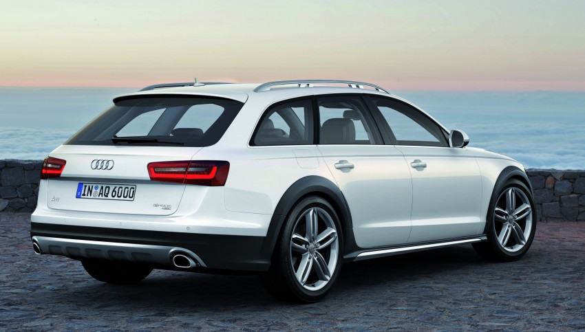 Audi A6 allroad quattro – the Avant that drives on all roads Image #92651