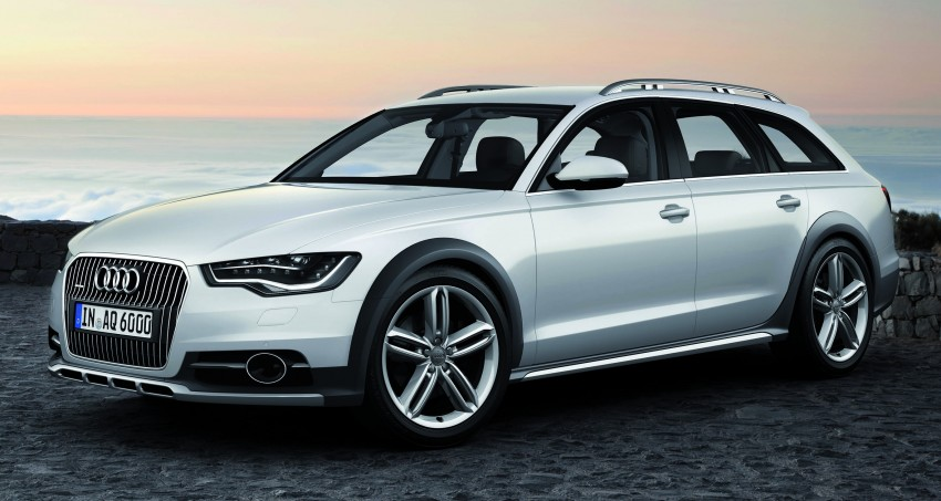 Audi A6 allroad quattro – the Avant that drives on all roads Image #92650