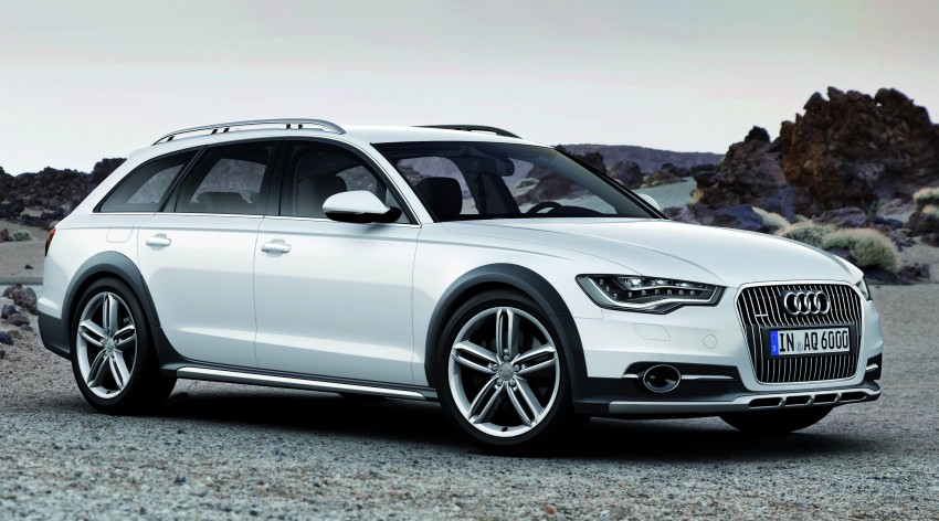 Audi A6 allroad quattro – the Avant that drives on all roads Image #92649