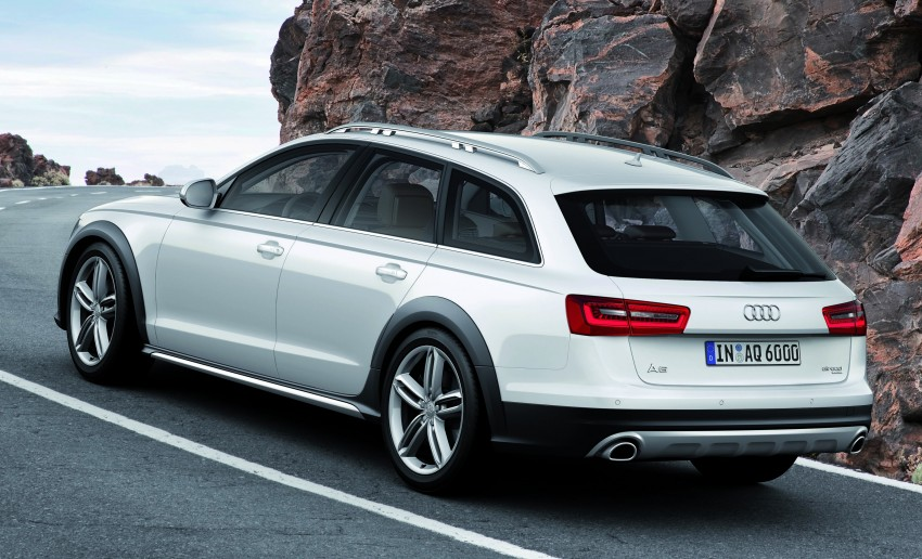 Audi A6 allroad quattro – the Avant that drives on all roads Image #92648