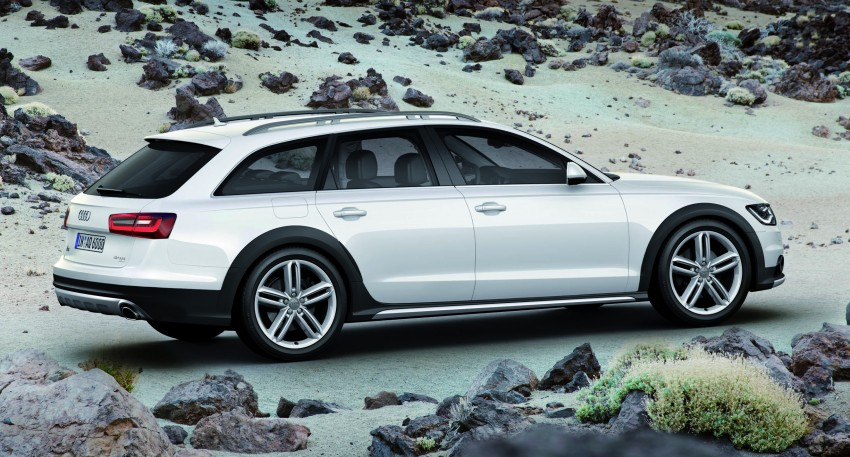 Audi A6 allroad quattro – the Avant that drives on all roads Image #92647