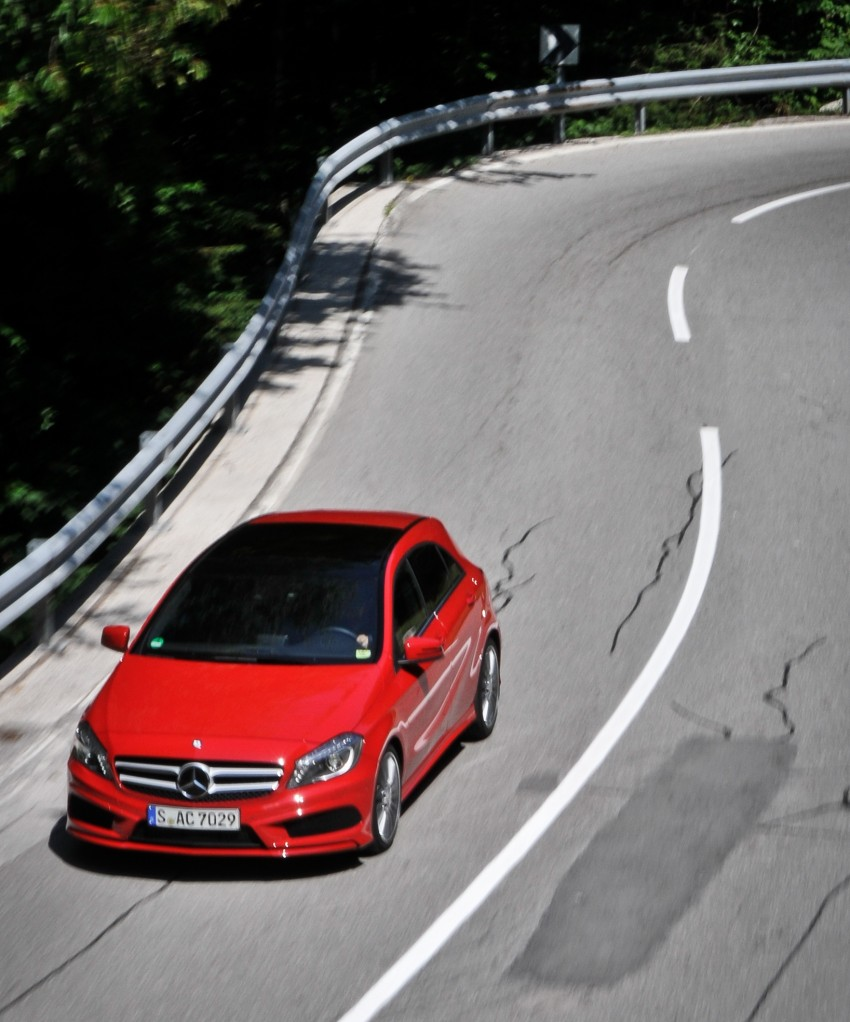 DRIVEN: W176 Mercedes-Benz A-Class – we sample the A200, A250 and A250 Sport in Slovenia Image #121672