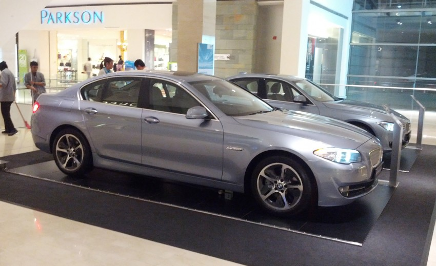 BMW ActiveHybrid 3 and ActiveHybrid 5 sedans officially launched – RM538,800 and RM648,800 Image #138192