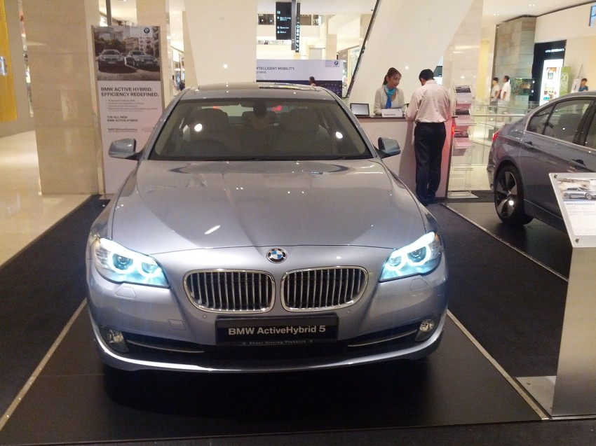 BMW ActiveHybrid 3 and ActiveHybrid 5 sedans officially launched – RM538,800 and RM648,800 Image #138197