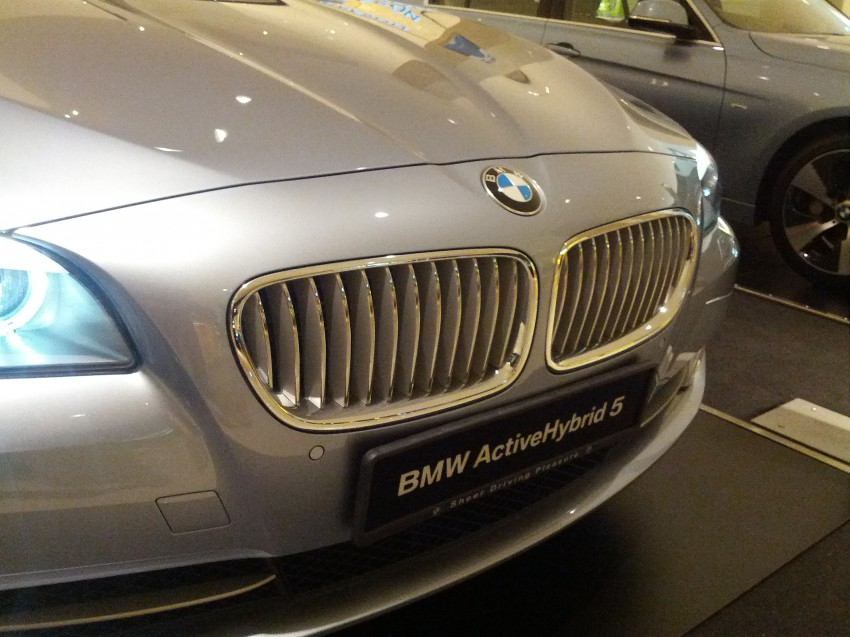 BMW ActiveHybrid 3 and ActiveHybrid 5 sedans officially launched – RM538,800 and RM648,800 Image #138198