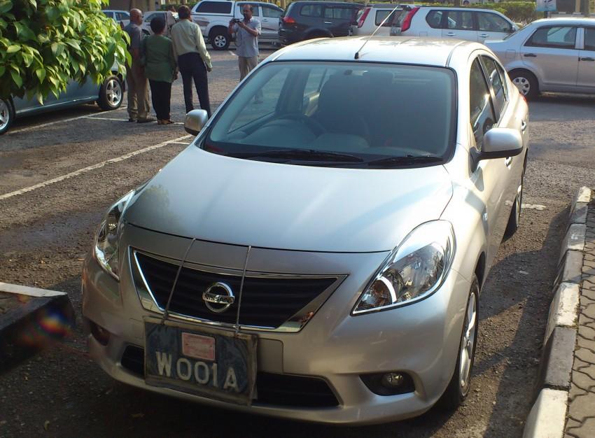 SPIED: Nissan Almera a.k.a. Sunny in Melaka Image #114457