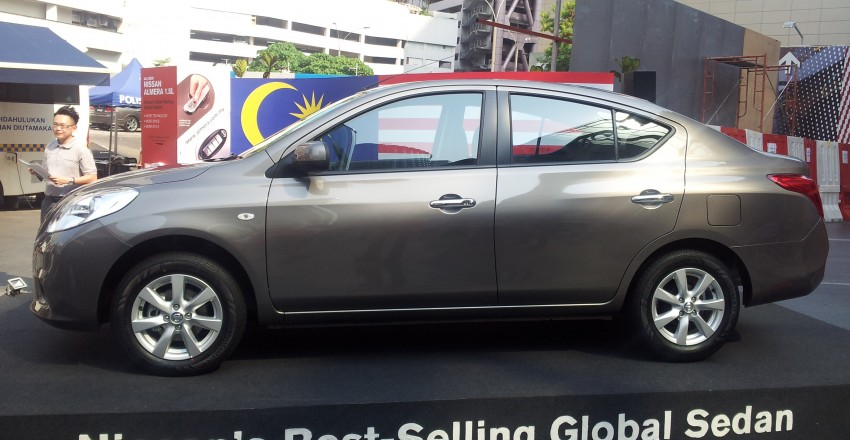 Nissan Almera 1.5L officially previewed by Tan Chong – CKD, RM70k to 85k, deliveries in Q4 Image #124439
