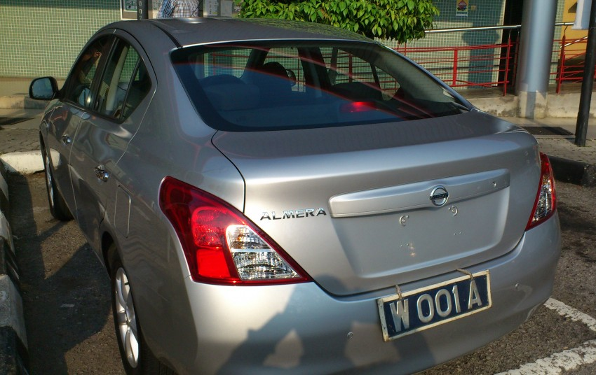 SPIED: Nissan Almera a.k.a. Sunny in Melaka Image #114459