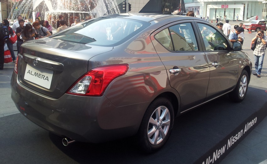 Nissan Almera 1.5L officially previewed by Tan Chong – CKD, RM70k to 85k, deliveries in Q4 Image #124442