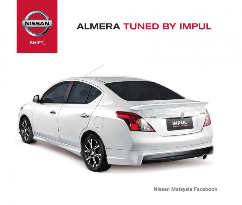 Nissan Almera Tuned by Impul open for booking, ETCM also announces a long list of optional kit Image #136151