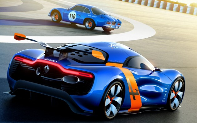 alpine concept rear