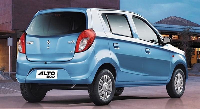 Suzuki Alto 800 – upgraded model debuts in India Image #136457