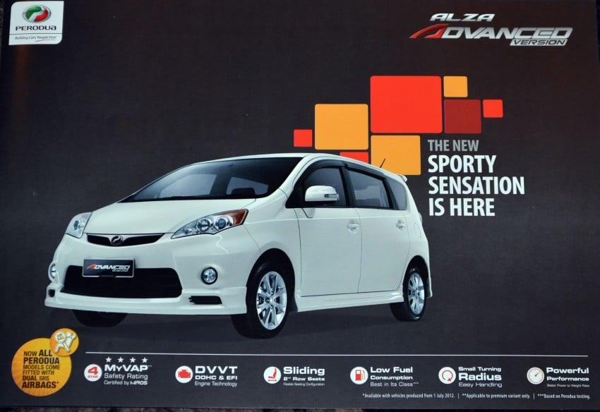 Perodua introduces the new Alza Advanced Version Image #119207