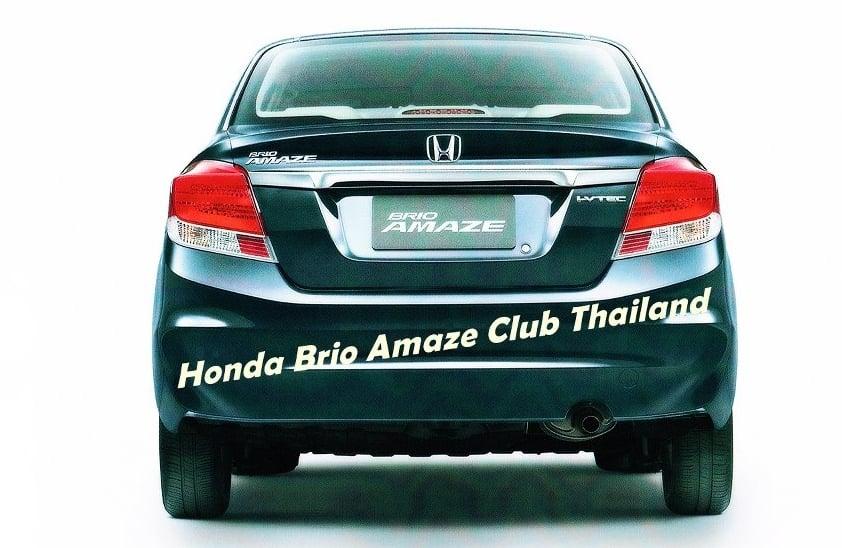 Honda Brio Amaze – new photos of sedan emerge Image #142431
