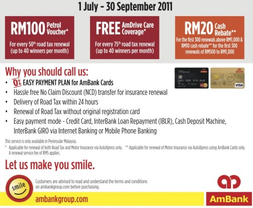 Renew Your Car S Road Tax And Insurance Without Hassle With Ambank