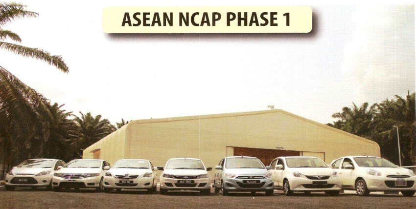 ASEAN NCAP first phase results released for eight models tested – Ford Fiesta and Honda City get 5 stars Image #151920