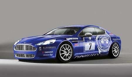 aston rapide race car