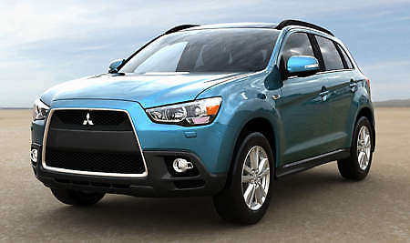 New Mitsubishi ASX  Previewed - now with Lancer style shark nose