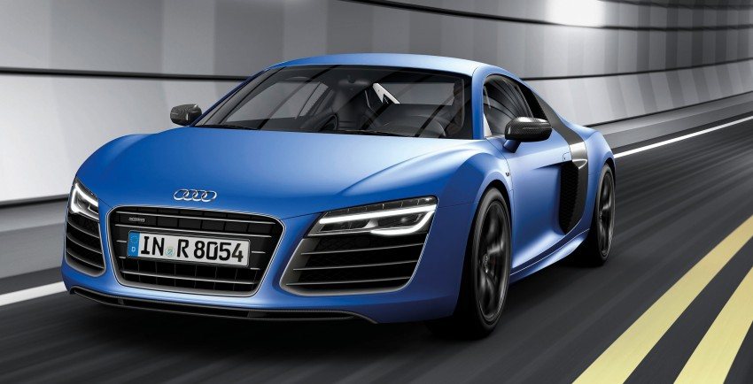 Audi R8 facelift – now with S tronic dual clutch Image #122112