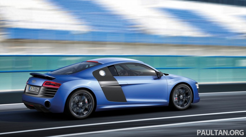 Audi R8 facelift – now with S tronic dual clutch Image #122135