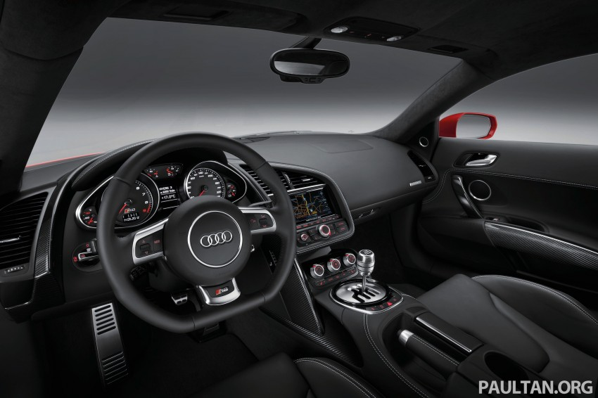 Audi R8 facelift – now with S tronic dual clutch Image #122137