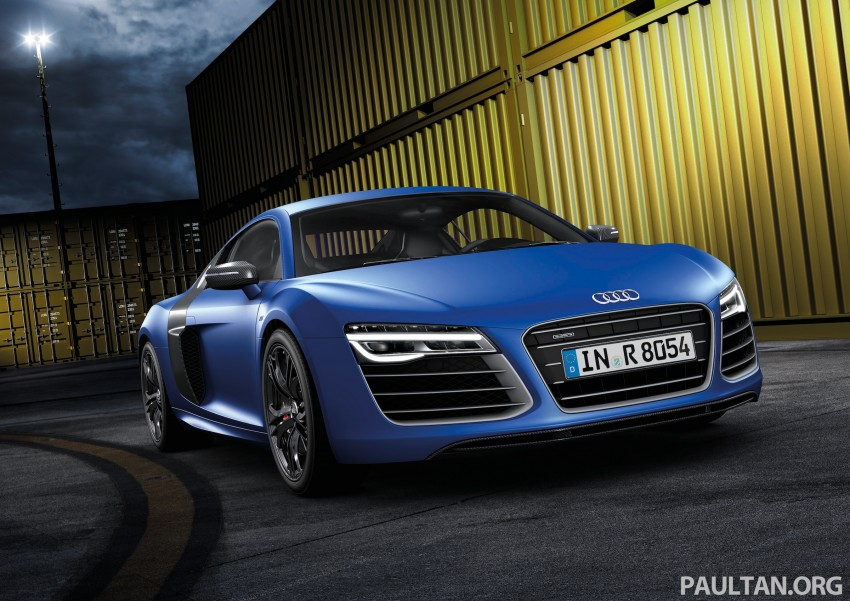 Audi R8 facelift – now with S tronic dual clutch Image #122144