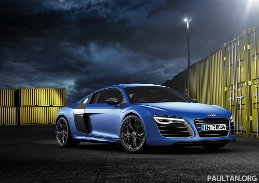 Audi R8 facelift – now with S tronic dual clutch Image #122146