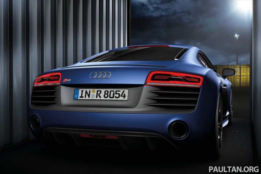 Audi R8 facelift – now with S tronic dual clutch Image #122142