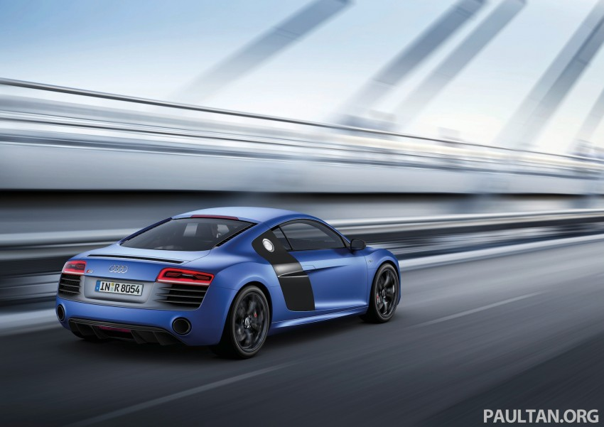 Audi R8 facelift – now with S tronic dual clutch Image #122141