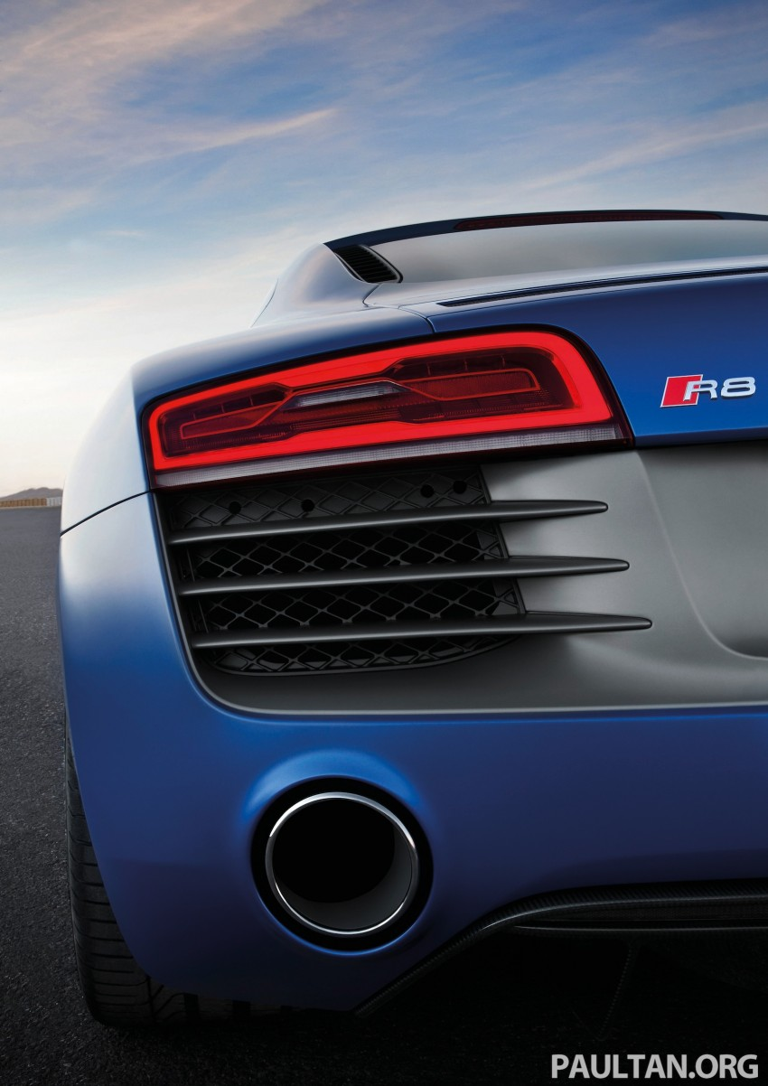 Audi R8 facelift – now with S tronic dual clutch Image #122150