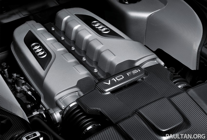 Audi R8 facelift – now with S tronic dual clutch Image #122136