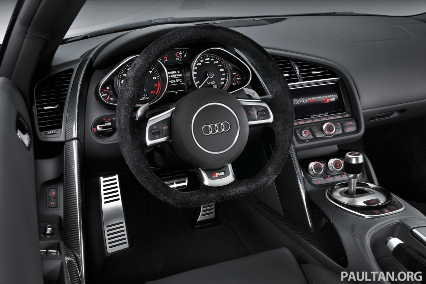 Audi R8 facelift – now with S tronic dual clutch Image #122147