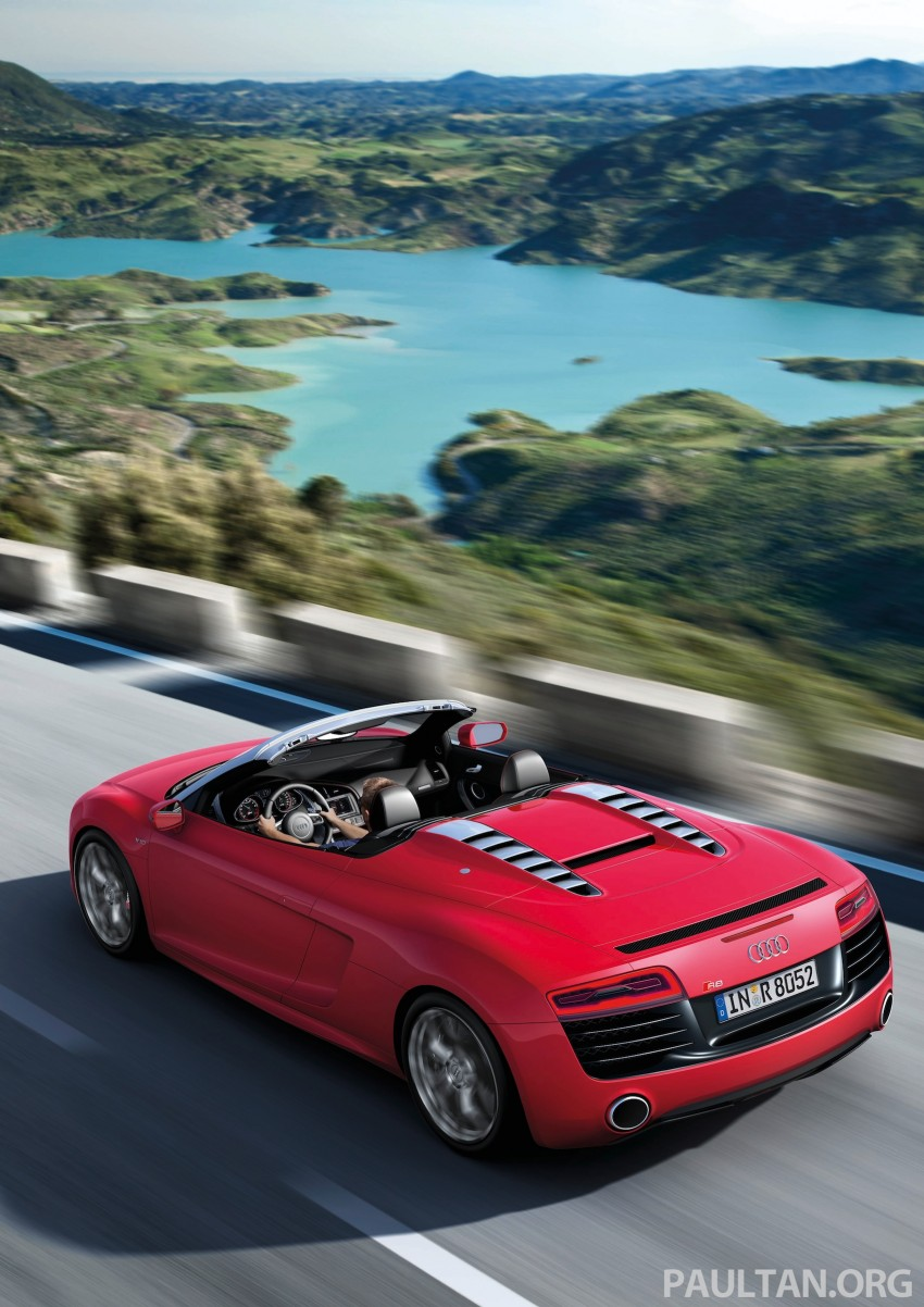 Audi R8 facelift – now with S tronic dual clutch Image #122163