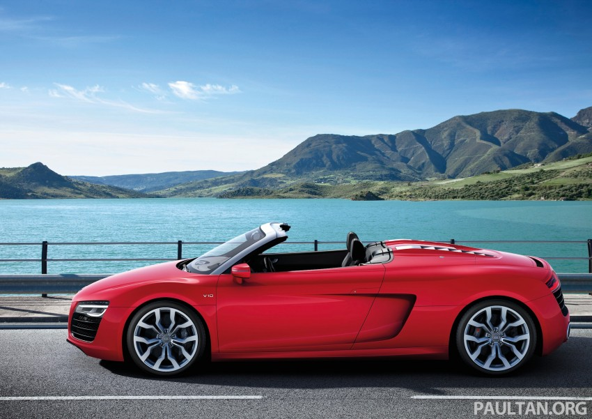 Audi R8 facelift – now with S tronic dual clutch Image #122162
