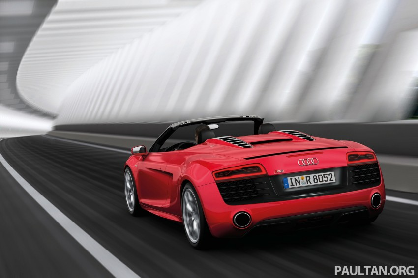 Audi R8 facelift – now with S tronic dual clutch Image #122161