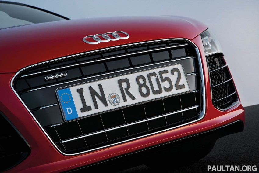 Audi R8 facelift – now with S tronic dual clutch Image #122160