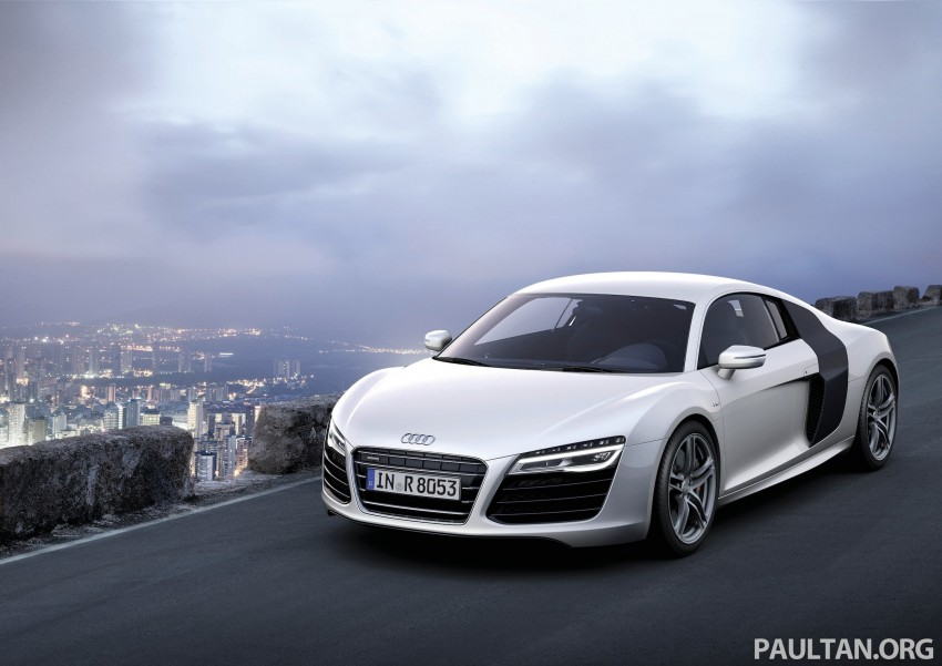 Audi R8 facelift – now with S tronic dual clutch Image #122169