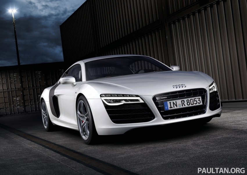 Audi R8 facelift – now with S tronic dual clutch Image #122168