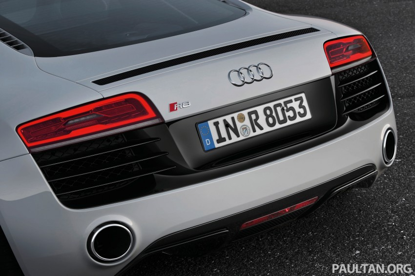 Audi R8 facelift – now with S tronic dual clutch Image #122166