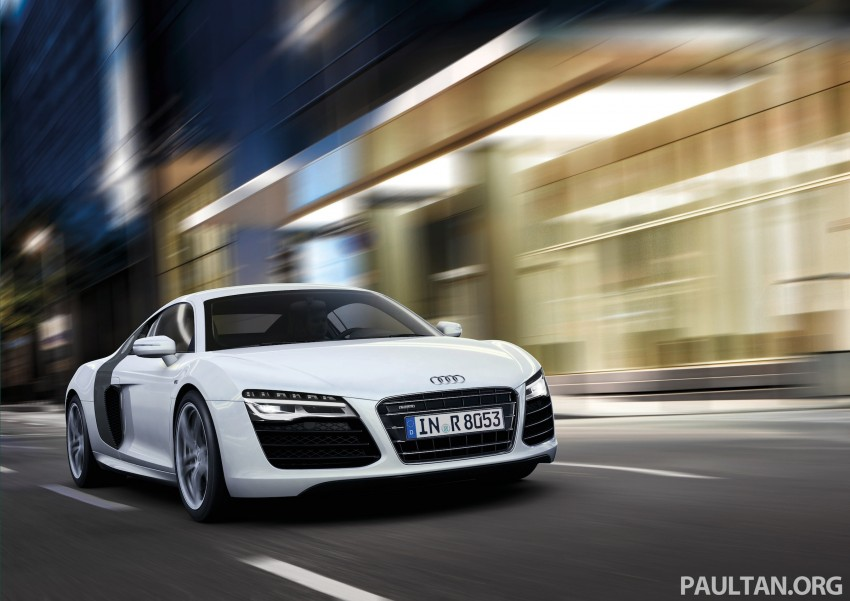Audi R8 facelift – now with S tronic dual clutch Image #122140