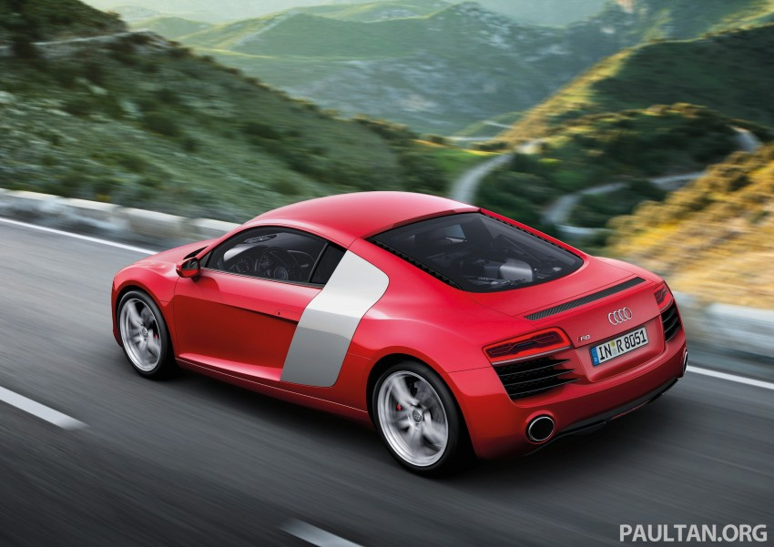 Audi R8 facelift – now with S tronic dual clutch Image #122129