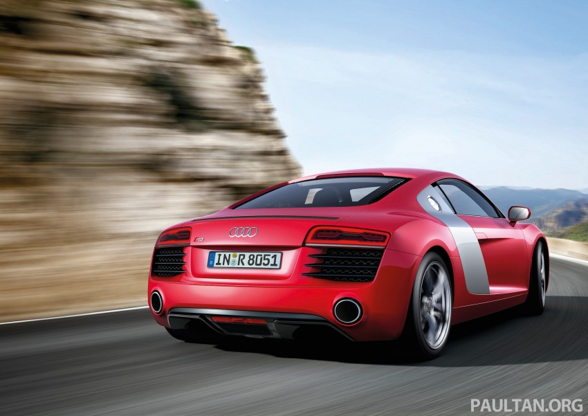 Audi R8 facelift – now with S tronic dual clutch Image #122139