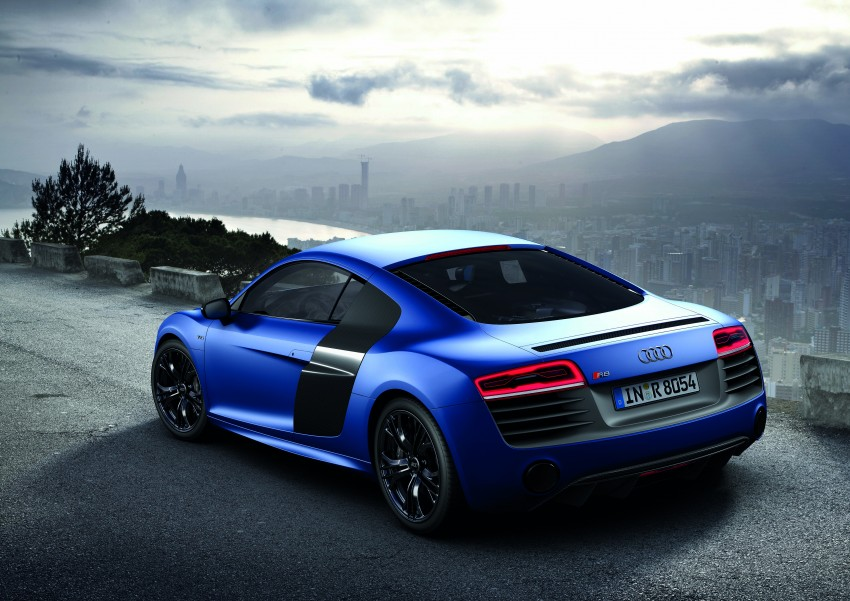 Audi R8 facelift – now with S tronic dual clutch Image #122115