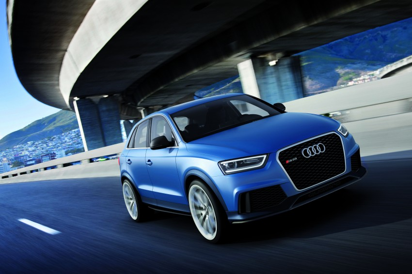 Audi RS Q3 concept to break cover in Beijing Motor Show Image #122671