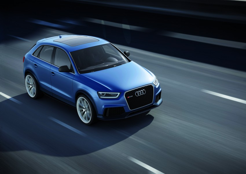 Audi RS Q3 concept to break cover in Beijing Motor Show Image #122672