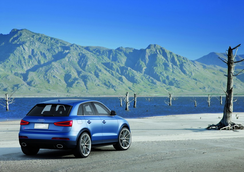Audi RS Q3 concept to break cover in Beijing Motor Show Image #122673